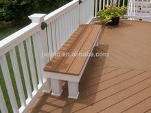WPC backyard bench