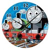 Thomas trains glass wall clock without frame