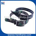 Top quality dog collar, camo dog collar, TPU with nylon pet collar