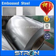 Manufacturer embossed galvanized steel coil for freezer inside steel