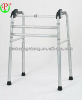 Universal feet folding aluminium exercise walker for the elderly