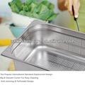 Lfgb& aprobar nsf de servicio pesado de acero inoxidable gn pan inflight catering