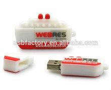 Custom pvc usb drive in recorder shape pens, Custom fashion radio usb, Recorder shaped usb flash momory 4GB 8GB