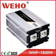 100% test 1500w 48v to 110v pure sine wave ups inverter battery charger battery
