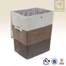 cheap plastic fabric plastic storage basket liners without lid