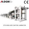 DGM ETH Series Corrugated Carton Flute Laminator Machine,carton laminating machine