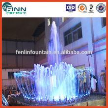 swing rotating ball water fountain