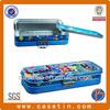 Fashionable pencil box/three layer tin /decorative pencil tin box