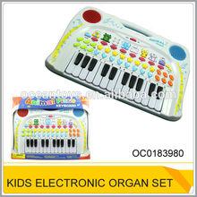Plastic musical instrument Toy Children Mini Electronic Organ Toys Set OC0183980