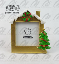 Christmas house hanging picture frame ornaments 2014