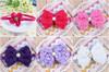 Best selling various colours handmade infant crochet headband for baby