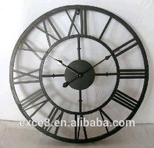 Unique decorative art skeleton clock