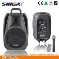 led mini portable speaker with FM radio/USB/SD card