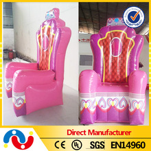 1.8m high inflatable birthday chair for event party rental