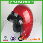 Fashionable Red Carbon Fiber Material Motorcycle Open Face Helmet