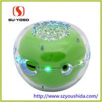 S-21 apple speaker with transpare cases light professional mini speaker full function