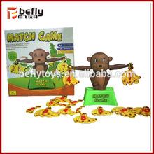Plastic Monkey math toy Banana Balance Games baby development play