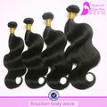 El envío rápido! Befa de pelo virgen de pelo onda del cuerpo 5a grado virgen del pelo humano extensiones de tejido peruano