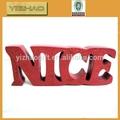 Yz-wl0001 decorativas de alta qualidade bordado de letras e números