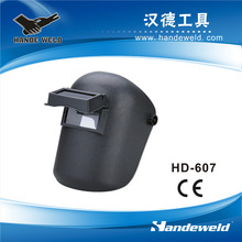 Taiwan type welding helmet with glass