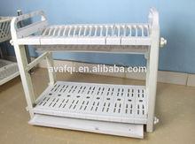 AVAFQI Kitchen Multi Functional Lid Plastic Dish Rack Set