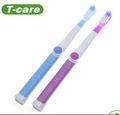 de alta calidad precio de fabricación de bebé de silicona cepillo de dientes mordedera
