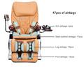 Yeni 2.014 seks tam vücut masaj koltuğu hava dlk-h015, ce. Rohs/seks mobilya mesaj sandalye/ev mobilya kanepeler