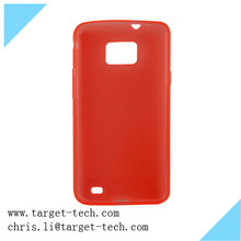2014 China Hotsale! TPU Mobile Phone Case for Samsung i9100 TPU Case Cover