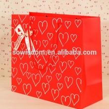 Luxury Paper Handbag fashion shopping kraft paper handbag