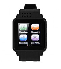 low cost touch screen latest smart wrist watch mobile phone for Child watch gps tracker for htc one m8