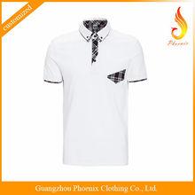 custom high uqlaity polo shirt cotton elastane