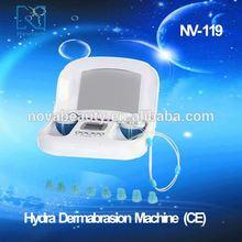 NV-119 NOVA Inteligent Water Level control Hydro Dermabrasion Moisturizing Beauty System(CE Approved)