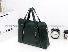 Men buy pu leather shoulder bag for women OEM genuine leather bag