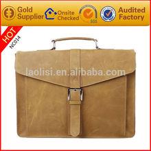 2014 the most popular handbag crazy horse leahter messenger bag online shopping