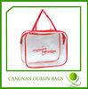 Superior quality pvc zipper bag,pvc cosmetic bag,clear pvc bag