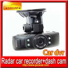 Hot sale and fashion car black box dvr car camera 2 channel