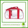 Superior quality pvc cosmetic bag,clear pvc bag,pvc tote bag