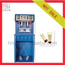 Small business cosmetic manual hand cream tube sealer