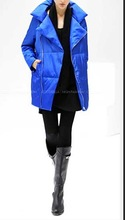 2015 Simple Quilted Down Coat Fabrics Loose Large For Lady