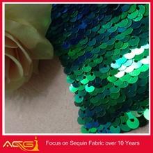 Sequin Confetti Stretch Fabric 100% polyester fashion wedding decorative bookends