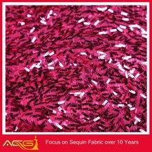 Lluvia de la gota de lentejuelas tafetán tela 100% del poliester de la boda venta al por mayor de la decoración funeral
