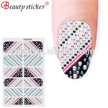Durable Fashion Shining Nail Sticker Crystal Nail Art