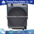 Profesional de agua del motor sistema de refrigeración para la carretera 2.5m mezclador del radiador, radiador de aceite hidráulico, para el agua del radiador de aire