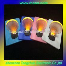 Christmas Gift Customized LED Business Card Light