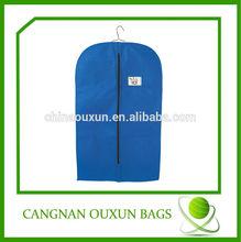 Dependable fabric garment bag,garment packaging bag,garment bag dry cleaning