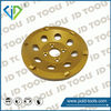 Coat removing cup wheel split face pcd grinding tool