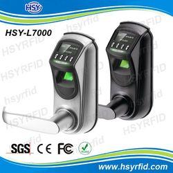 USB interface Zinc Alloy material digital door lock with fingerprint