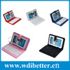"""Beautiful 10.1"""" 10.2"""" Inch For Android Tablet PC Leather USB Keyboard Carry Case Cover"""