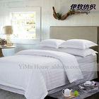 cotton satin stripe 3cm hotel bedding set, best value best price MOQ delivery date qualit quantity cotton fabric