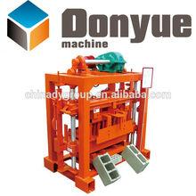 QT40-2 small hand press manual brick making machine